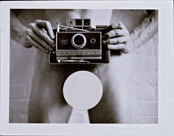 Polaroid_mapplethorpe